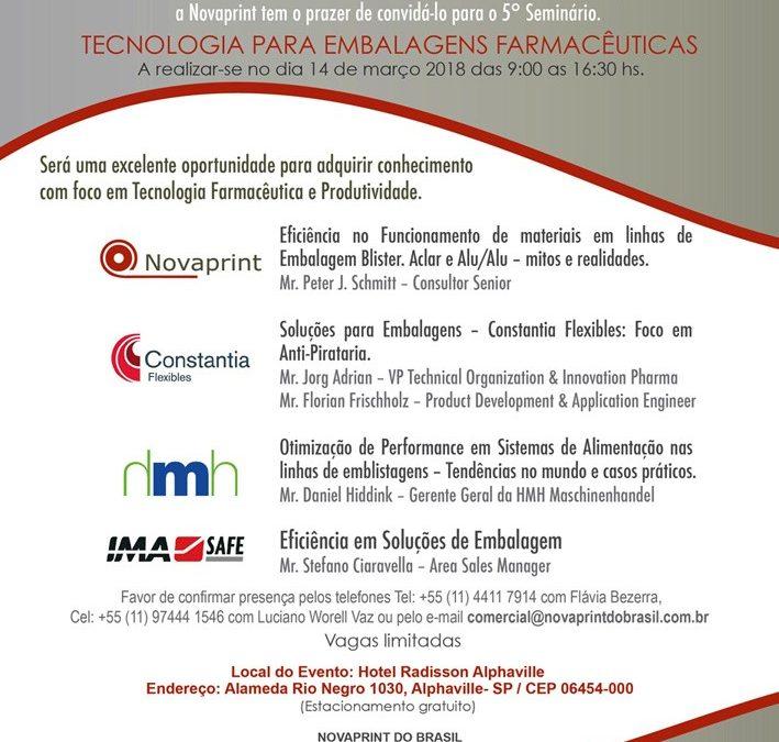 """7mo Seminario """"Tecnología para Embalaje Farmacéutico"""""""